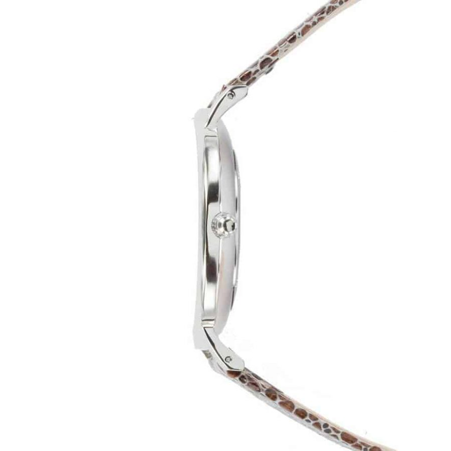 prisma 100%NL horloge bruin prisma horloges special edition P1625-436G Prisma 100NL bruin horloge online kopen zijkant