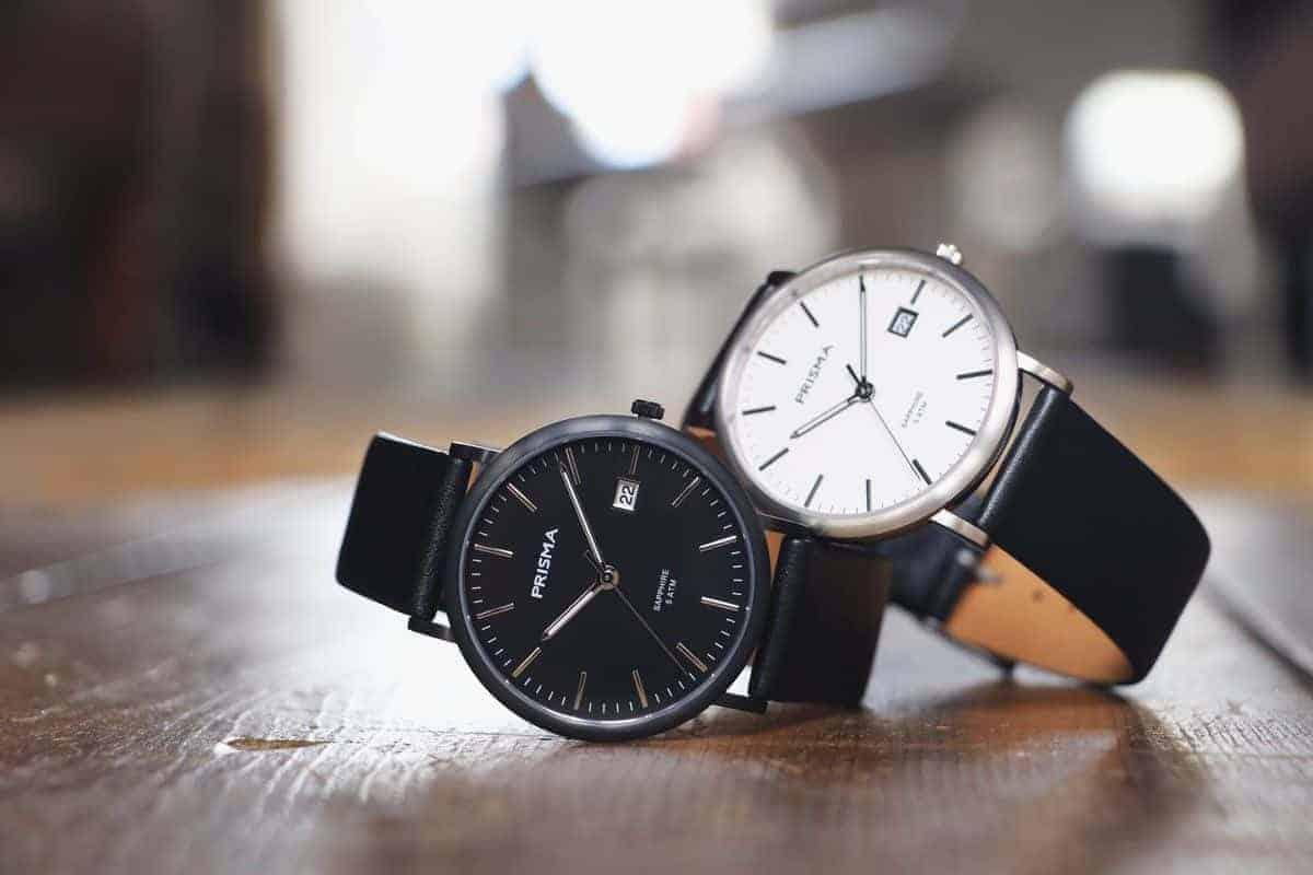 titanium horloge prisma horloges titanium dameshorloge titanium herenhorloge samen