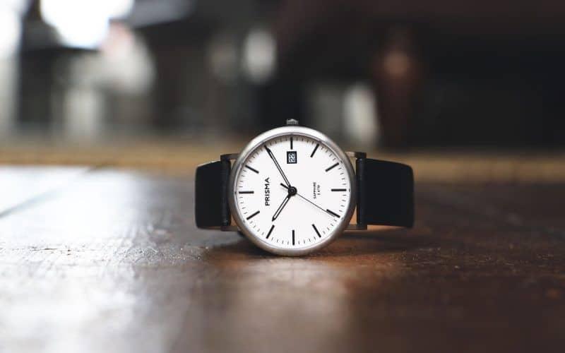 titanium horloge prisma horloges titanium dameshorloge titanium herenhorloge wit