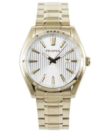 PRISMA Horloges P1832 HEREN HORLOGE WERKHORLOGE GOUD EDELSTAAL