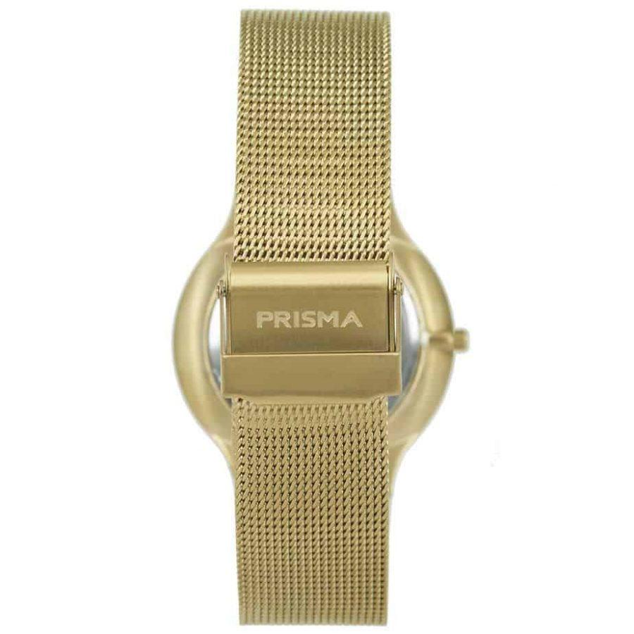 Prisma-P1803-horloge-heren-goud-edelstaal-achterkant