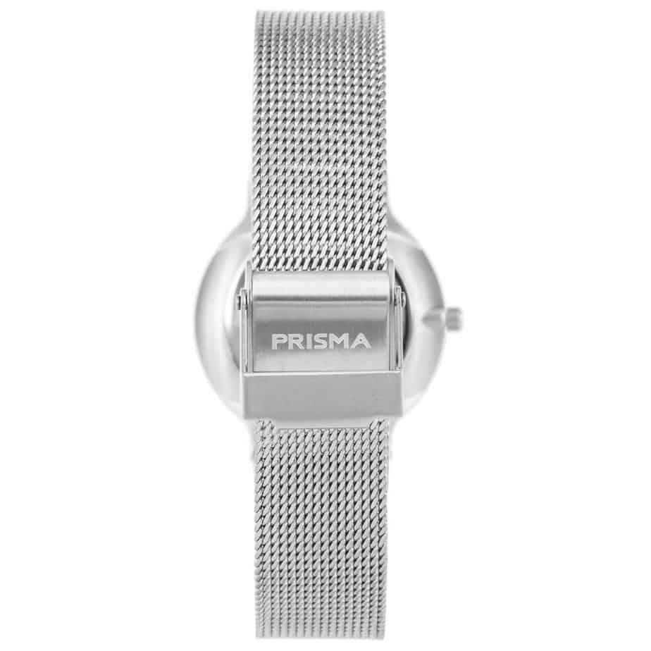 Prisma-P1806-horloge-dames-zilver-edelstaal-achterkant