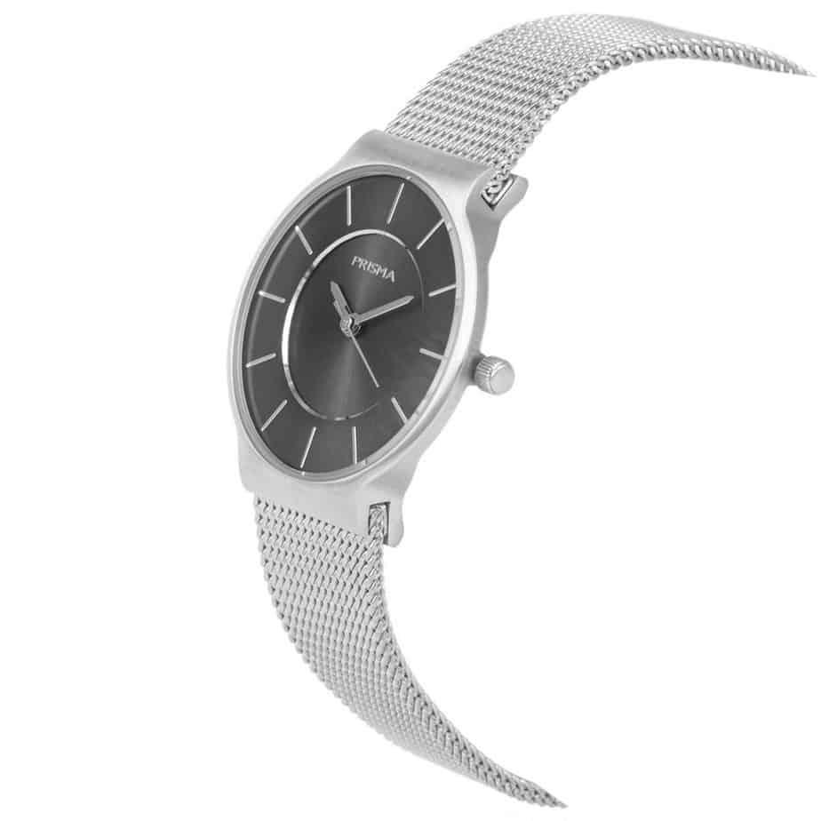 PRISMA P1807 HORLOGE DAMES ZILVER EDELSTAAL dutch watch brand