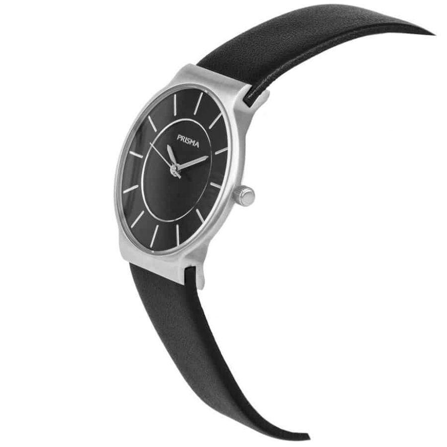 PRISMA P1811 HORLOGE DAMES ZILVER EDELSTAAL dutch watch brand