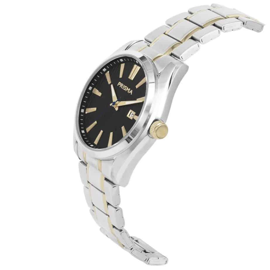 Prisma-P1831-heren-horloge-werkhorloge-bicolor-edelstaal-schuin-l