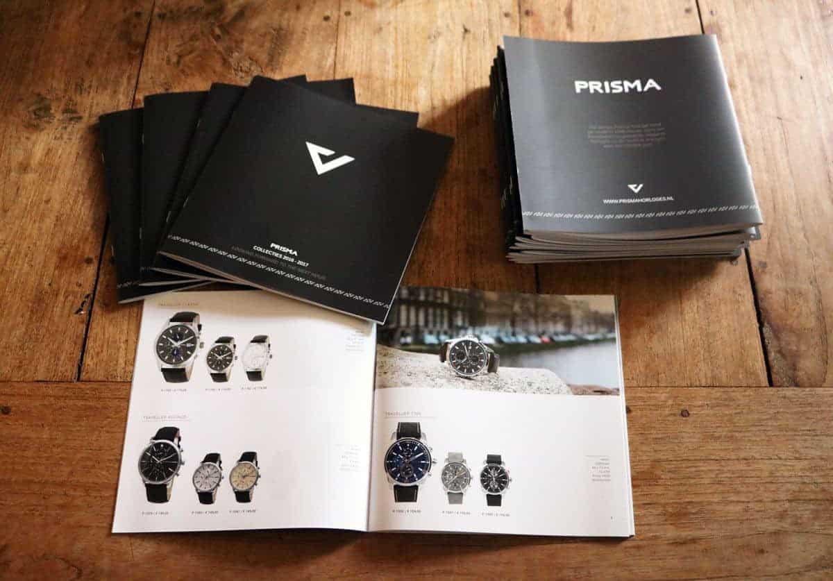 prisma horloges watches catalogus brochure 2016 2017