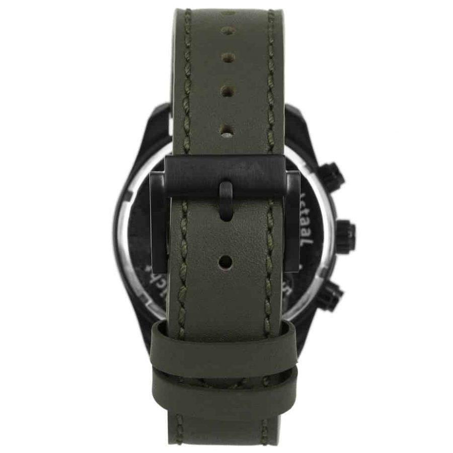 Prisma-P1827-heren-horloge-chronograaf-groen-leer-achterkant-l