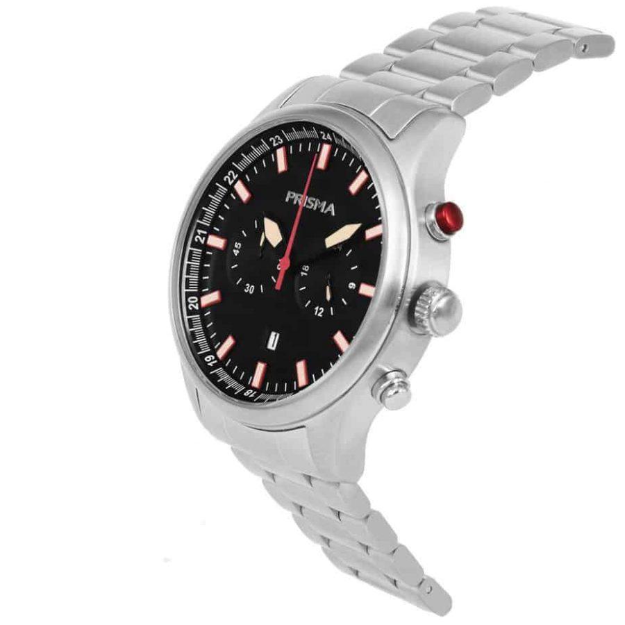 Prisma-P1840-heen-horloge-chronograaf-staal-schuin-l