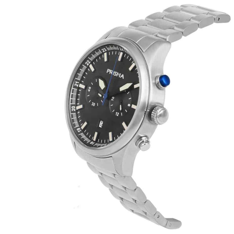 Prisma-P1841-heren-horloge-chronograaf-staal-schuin-l
