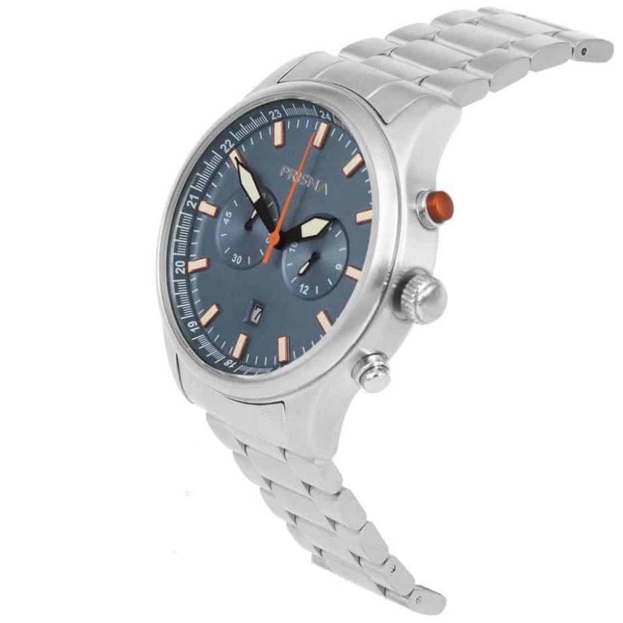 Prisma-P1842-heren-horloge-chronograaf-staal-schuin-l