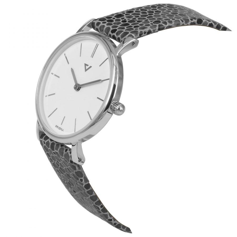 Prisma-P1865-dames-horloge-100NL-zilver-grijs-schuin