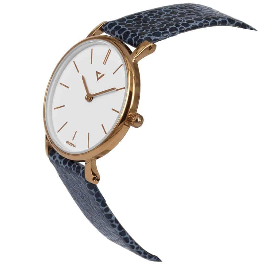 Prisma-P1867-dames-horloge-100NL-rosegoud-schuin