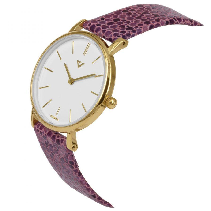 Prisma-P1868-dames-horloge-100NL-goud-schuin