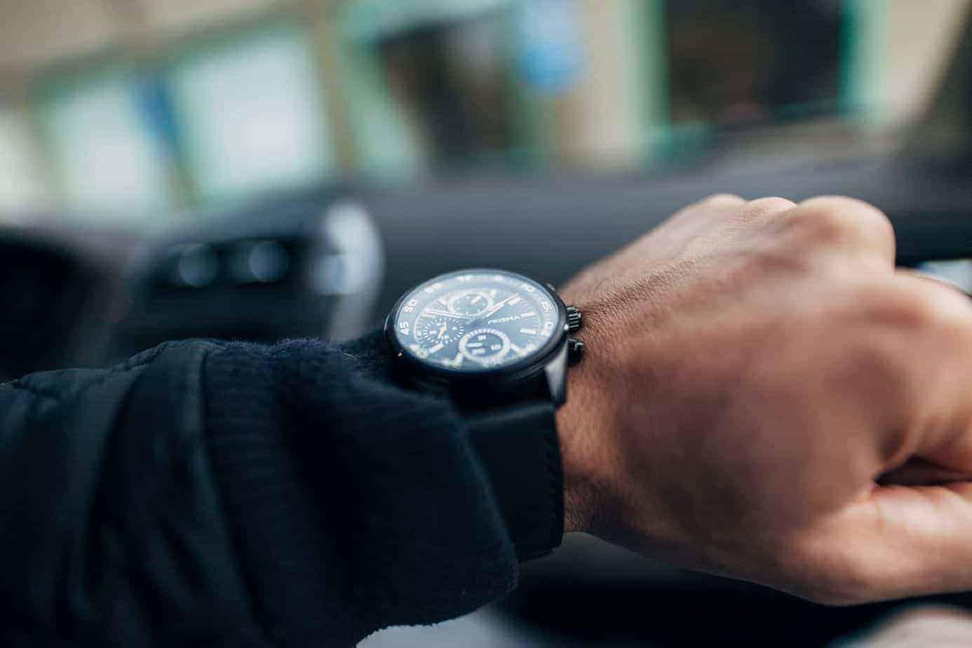 hoe horloge dragen Prisma Aviator Edition herenhorloge herenhorloges horloges voor mannen