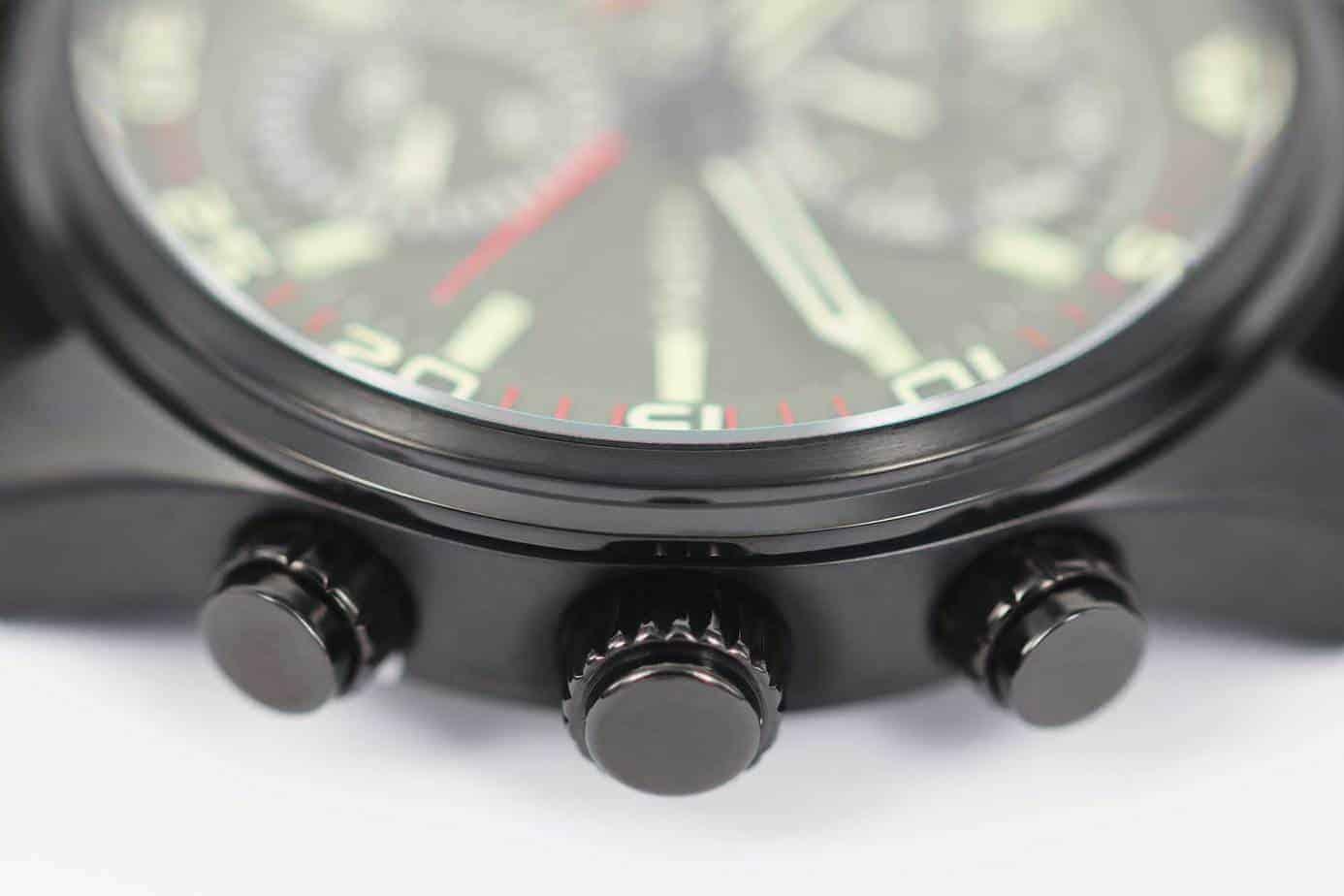 prisma horloge aviator watch edition groen horloge herenhorloge kwaliteit quality