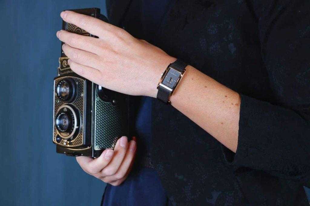 prisma horloges atone milan mooi dameshorloge zwart prisma watches