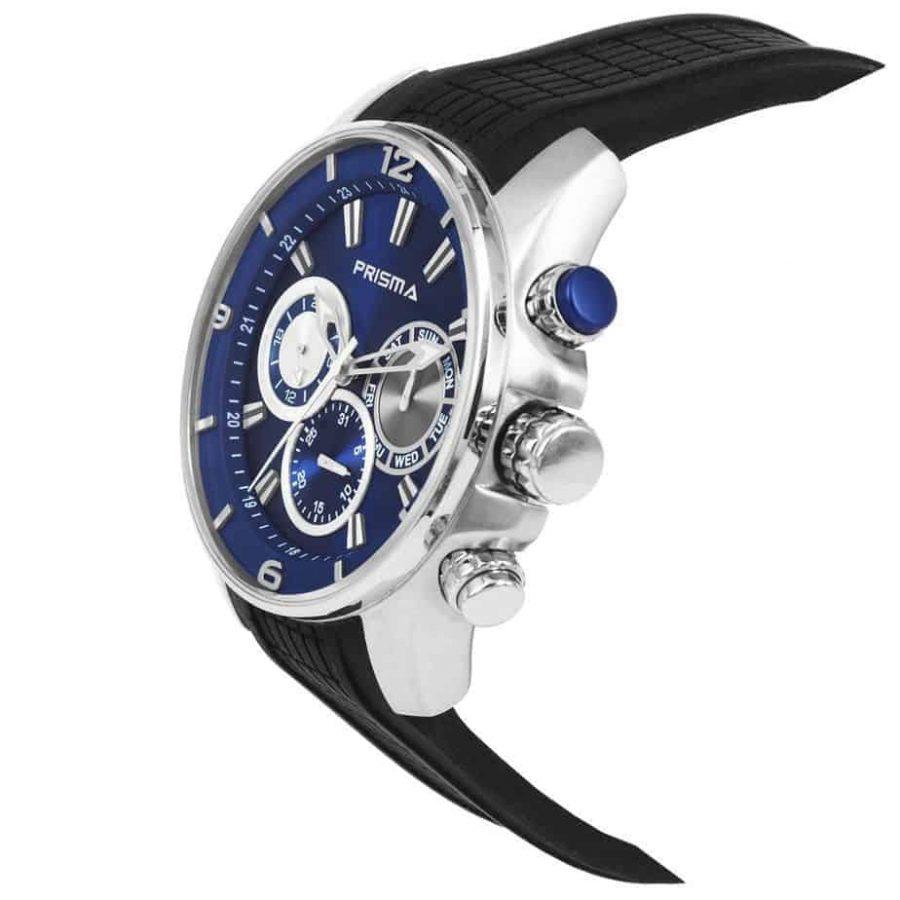 Prisma-P1595-heren-horloge-chronograaf-blauw-schuin-l