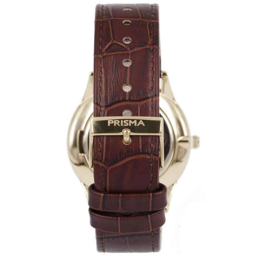 Prisma-P1887-heren-horloge-slimline-edelstaal-goud-achterkant-l