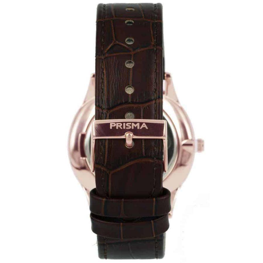 Prisma-P1888-heren-horloge-slimline-rosegoud-edelstaal-achterkant-l