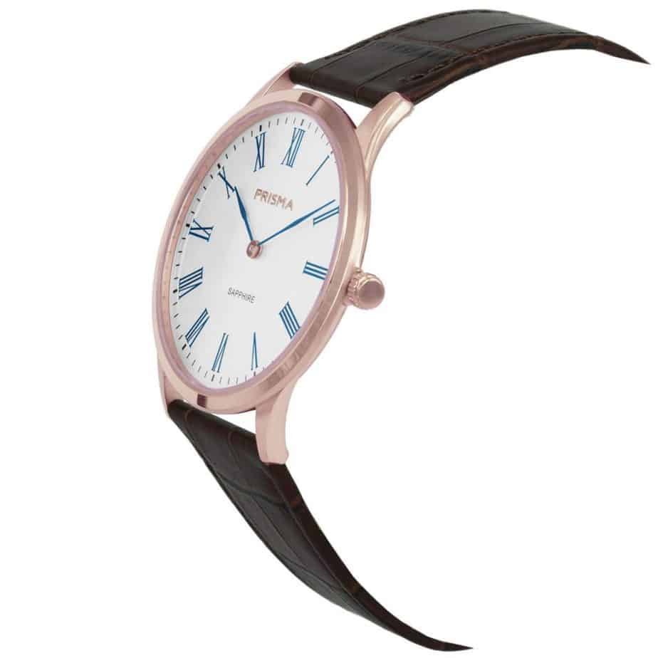 Prisma-P1888-heren-horloge-slimline-rosegoud-edelstaal-schuin-l