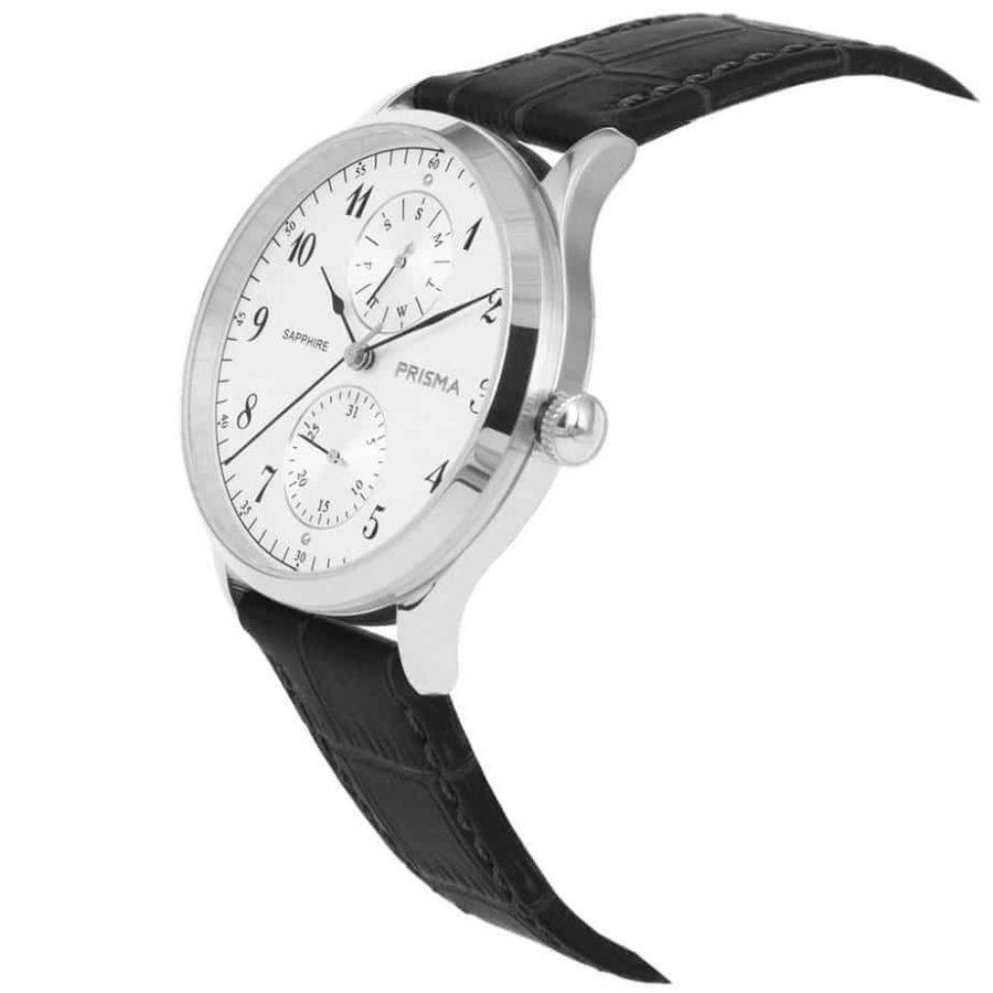 Prisma-P1900-heren-horloge-edelstaal-zilver-datum-schuin-l