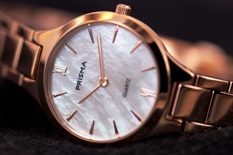 prisma horloge watch simplicity appeal rosegold dameshorloges ladies watches