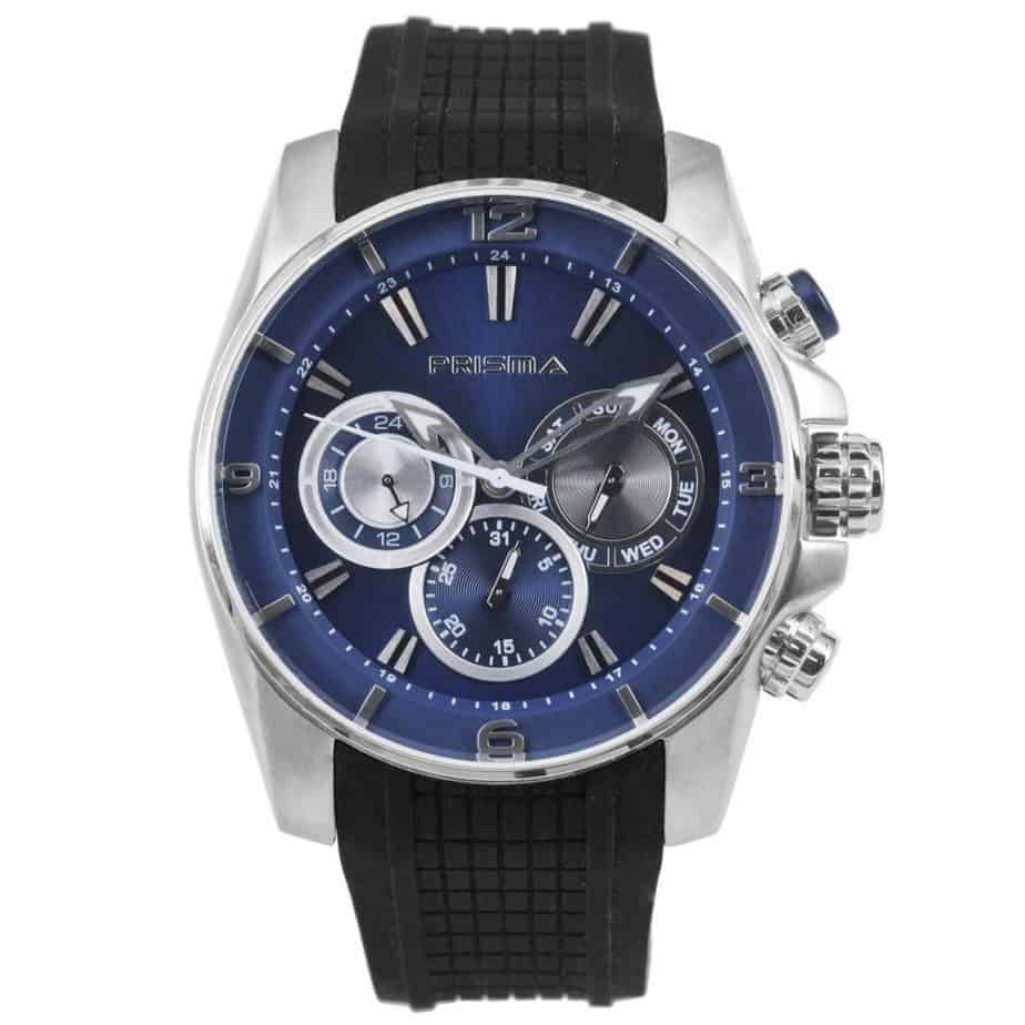 Prisma P1595 heren horloge chronograaf blauw watches chronograph