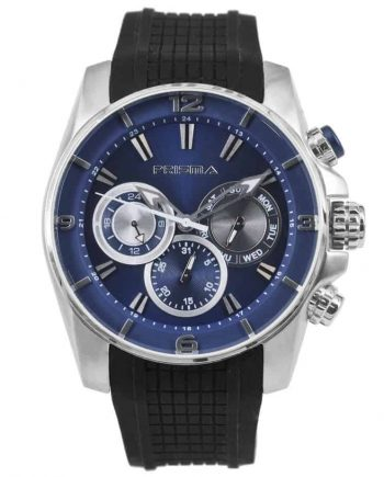 Prisma P1595 heren horloge chronograaf blauw watches chronograph
