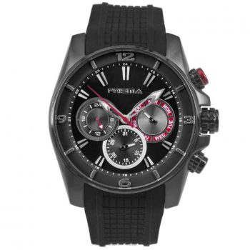 Prisma P1596 heren horloge chronograaf zwart black watches chronograph