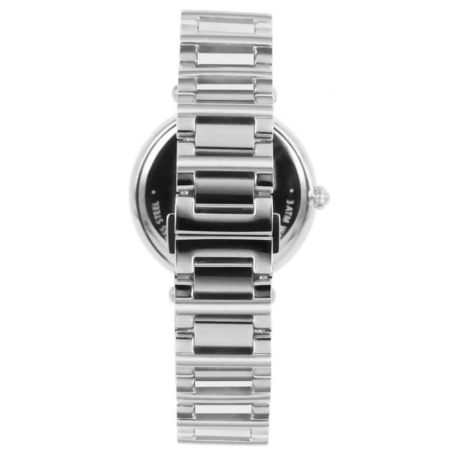Prisma P1450 Dames horloge edelstaal zilver zwitsers achterkant royal constant