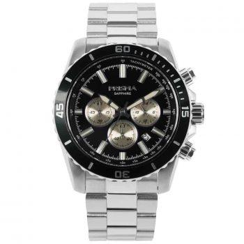 Prisma 1880 Navigator black zwart P.1880 heren horloge chronograaf chronograph watch