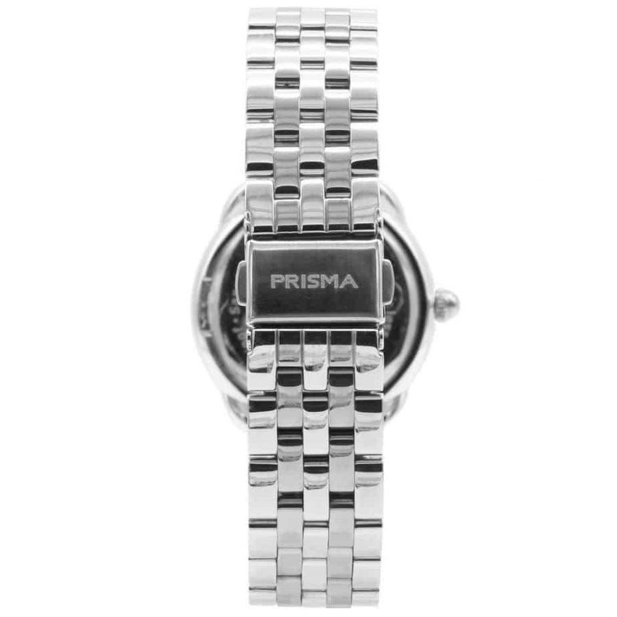 Prisma P1895 dames horloge edelstaal zilver achterkant royal dainty silver
