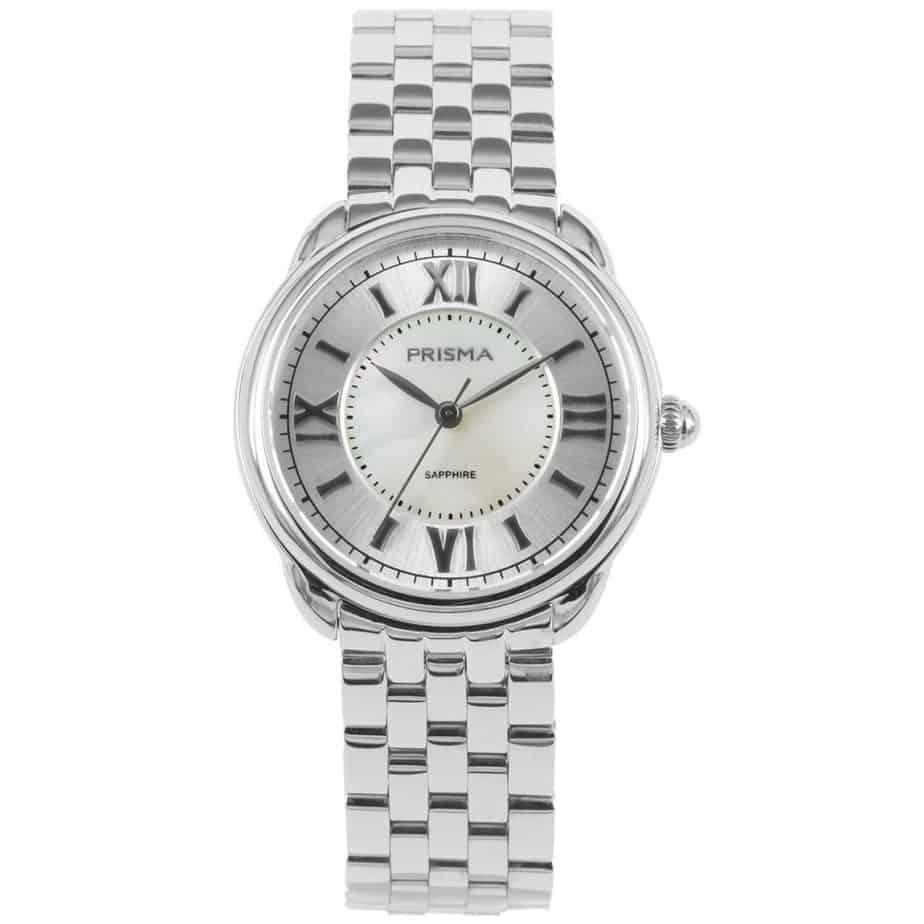 Prisma P1895 dames horloge edelstaal zilver royal dainty watch