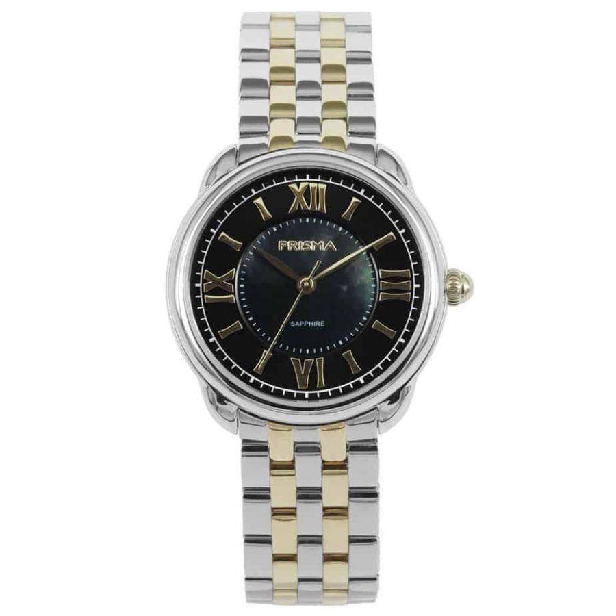 Prisma P1896 dames horloge edelstaal bicolor Royal Dainty watch