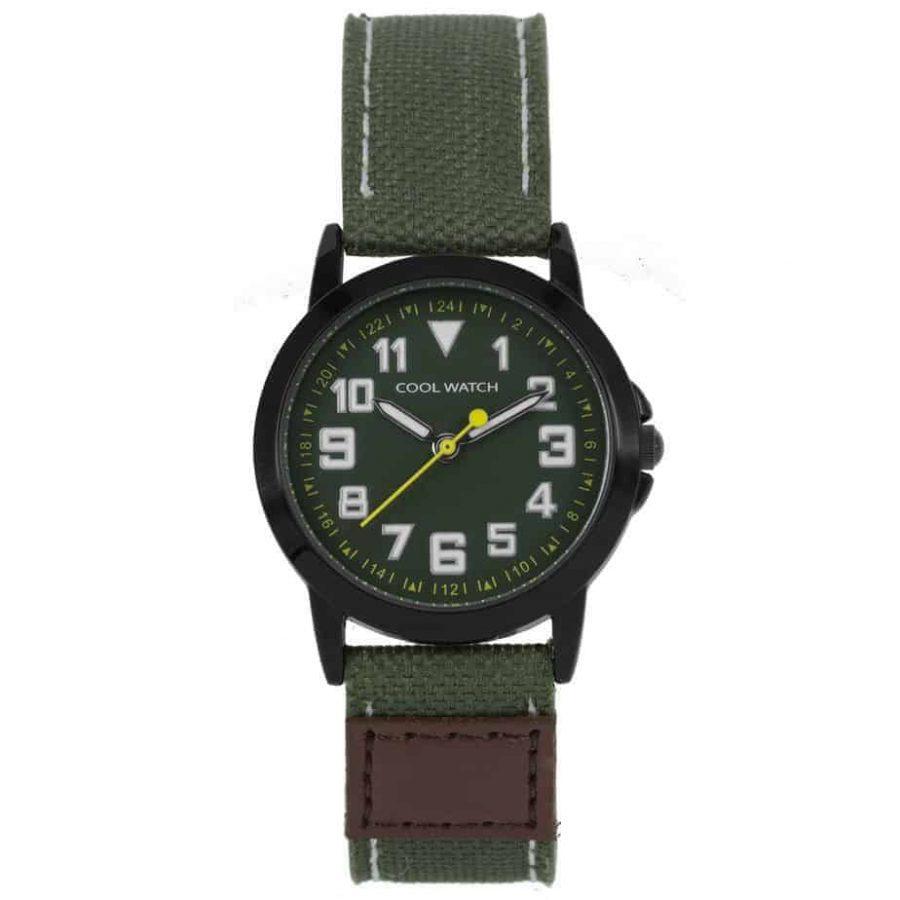 Coolwatch-CW246-kids-jort-horloge-groen-l
