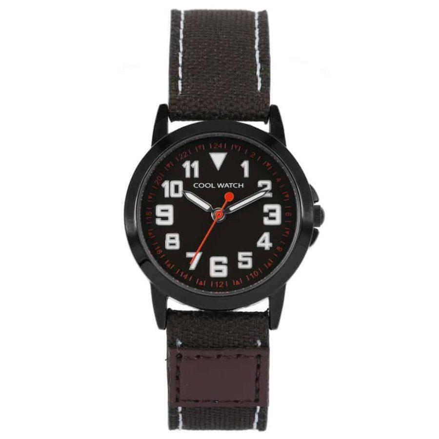 Coolwatch-CW247-kids-jort-horloge-bruin-l