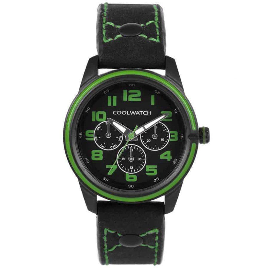 Coolwatch-CW252-kids-groen-zwart-l