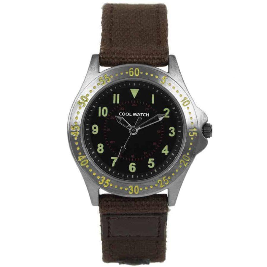 Coolwatch-CW257-jongens-horloge-Bolk-bruin-l