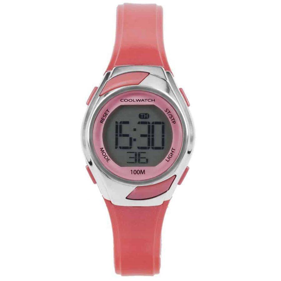 Coolwatch-CW348-meisjes-horloge-digitaal-roze-kunststof-l