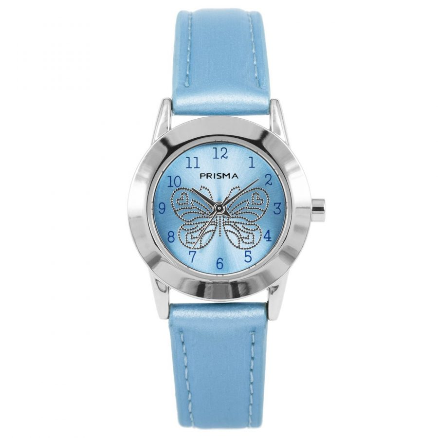 Prisma-CW184-kids-horloge-butterfly cool-blauw