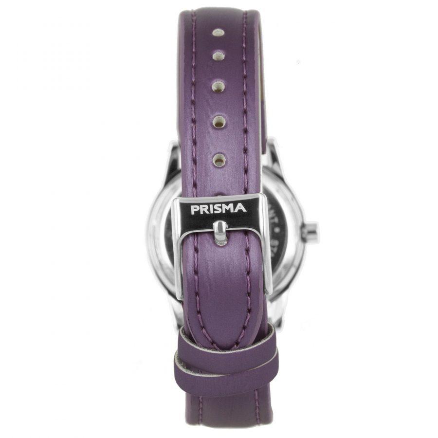 Prisma-CW185-kids-horloge-butterfly-cool-paars-achterkant