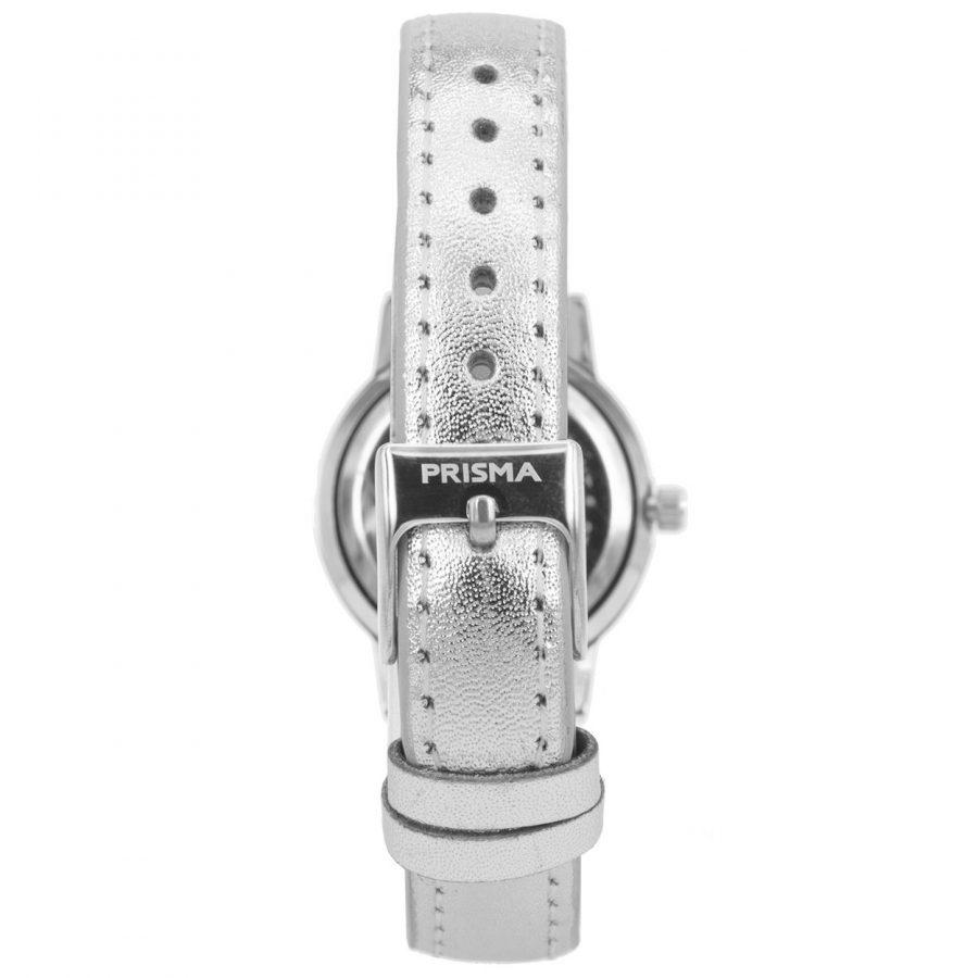 Prisma-CW211-kids-horloge-dazzling-diamonds-zilver-achterkant
