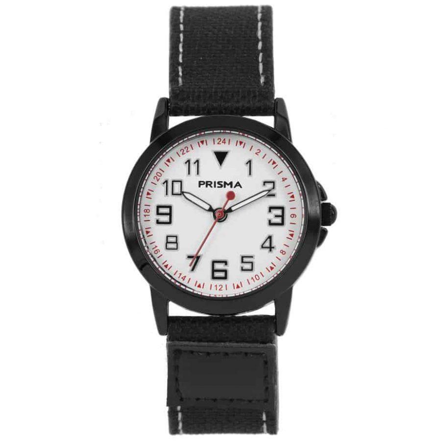 Prisma-CW249-kids-jort-horloge-zwart-l