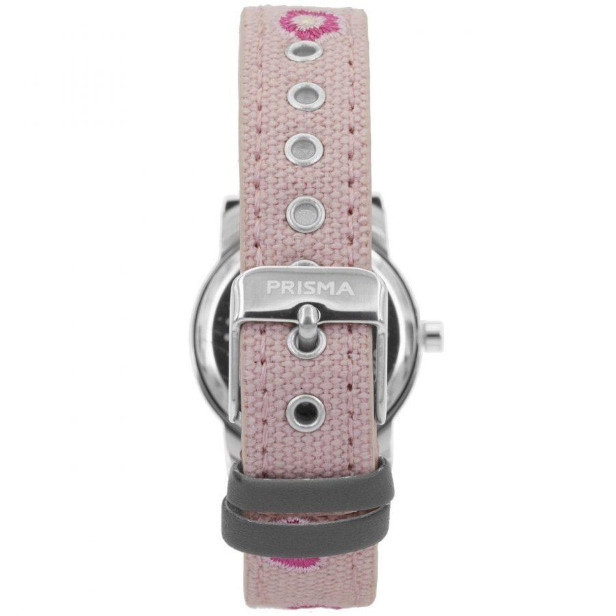 Prisma-CW324-kids-horloge-denim-lichtroze-achterkant