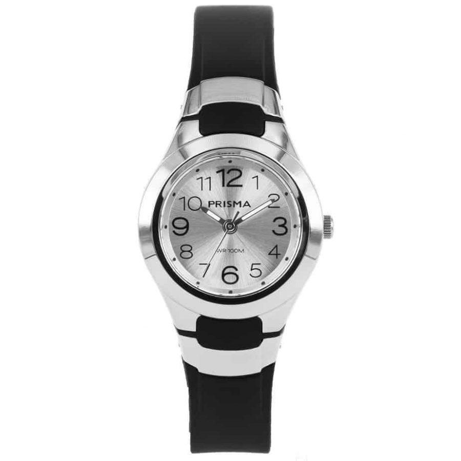 Prisma-CW335-kids-horloge-kunststof-zwart-l