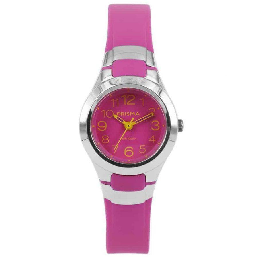 Prisma-CW337-kids-horloge-kunststof-roze-l