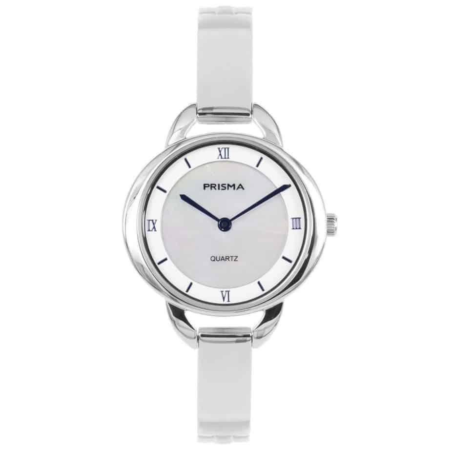 Prisma-P1465-dames-horloge-edelstaal-parelmoer-l