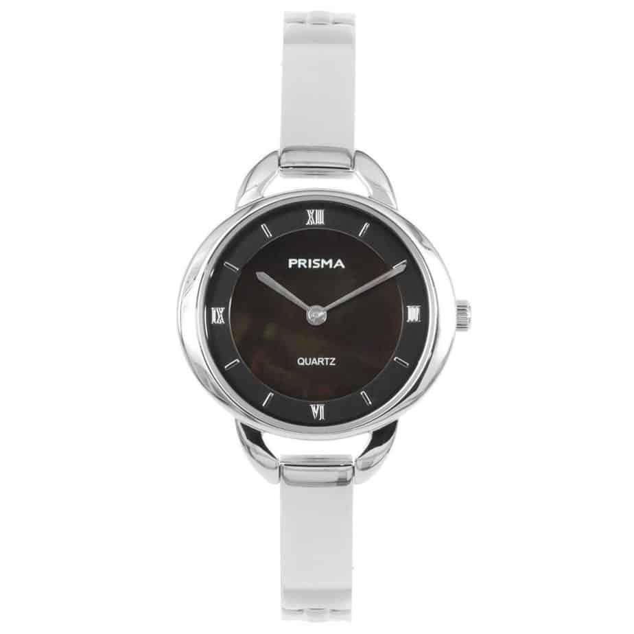 Prisma-P1466-dames-horloge-edelstaal-parelmoer-l