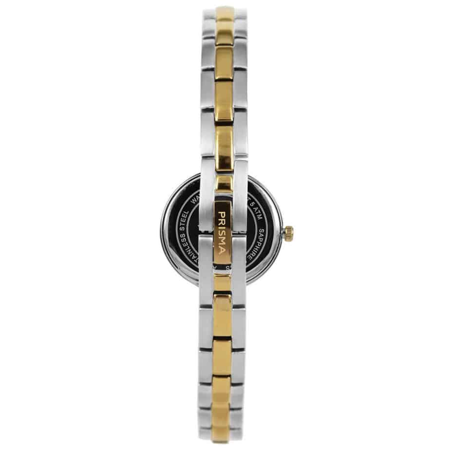Prisma-P1951-dames-horloge-edelstaal-bicolor-achterkant-l