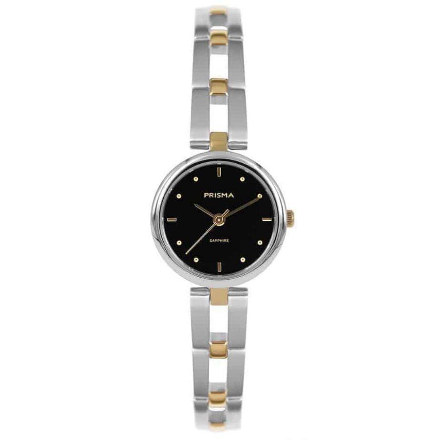Prisma-P1951-dames-horloge-edelstaal-bicolor-l